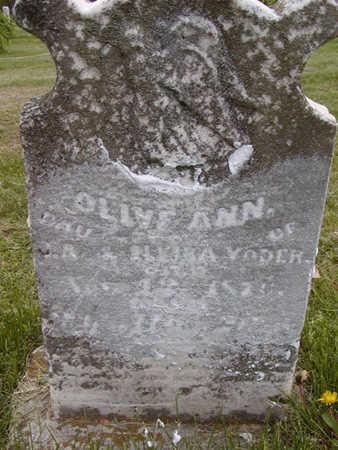 YODER, OLIVE ANN - Davis County, Iowa | OLIVE ANN YODER