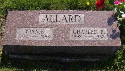 DOBSON ALLARD, WINNIE - Decatur County, Iowa | WINNIE DOBSON ALLARD