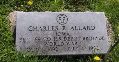 ALLARD, CHARLES EDGAR - Decatur County, Iowa | CHARLES EDGAR ALLARD