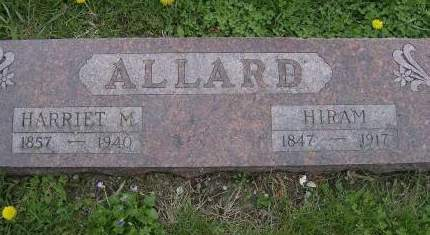 ALLARD, HIRAM - Decatur County, Iowa | HIRAM ALLARD