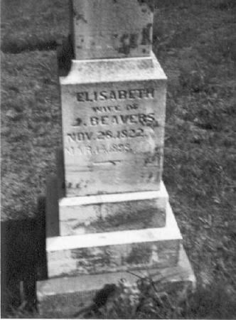 BEAVERS, ELIZABETH - Decatur County, Iowa | ELIZABETH BEAVERS