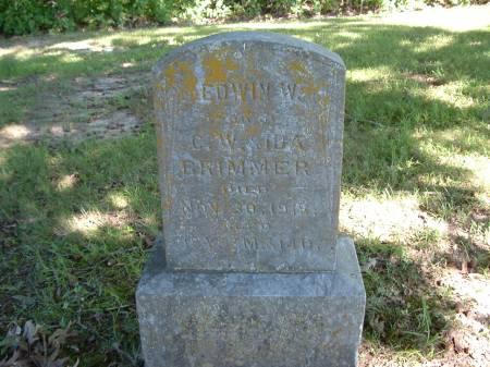 BRIMMER, EDWIN W. - Decatur County, Iowa | EDWIN W. BRIMMER