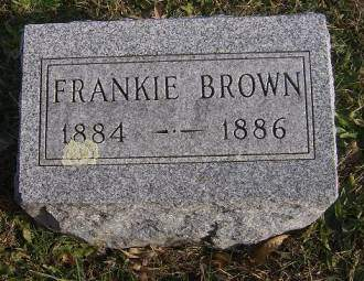 BROWN, FRANKIE - Decatur County, Iowa | FRANKIE BROWN