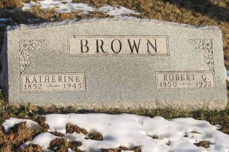 BROWN, ROBERT G - Decatur County, Iowa | ROBERT G BROWN