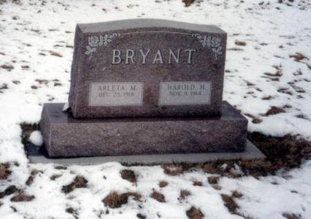 BRYANT, ARLETA M. AND HAROLD H. - Decatur County, Iowa | ARLETA M. AND HAROLD H. BRYANT