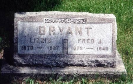 BRYANT, LIZZIE AND FRED J. - Decatur County, Iowa | LIZZIE AND FRED J. BRYANT