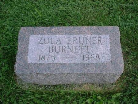 BURNETT, ZOLA (BRUNER) - Decatur County, Iowa | ZOLA (BRUNER) BURNETT