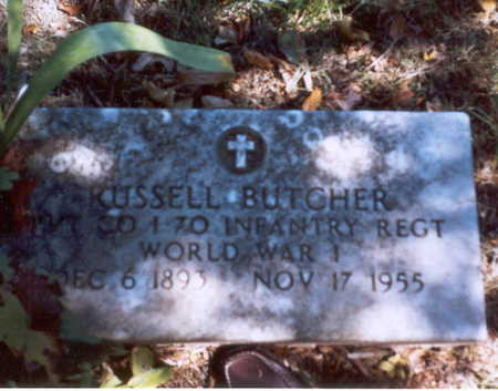 BUTCHER, RUSSELL ROLLLA - Decatur County, Iowa | RUSSELL ROLLLA BUTCHER
