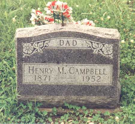 CAMPBELL, HENRY M. - Decatur County, Iowa | HENRY M. CAMPBELL