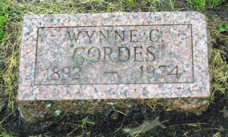 CORDES, WYNNE - Decatur County, Iowa | WYNNE CORDES