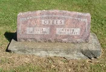 CREES, DELIA (KIER) - Decatur County, Iowa | DELIA (KIER) CREES