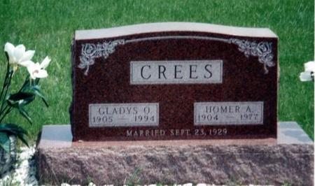 CREES, GLADYS O. AND HOMER A. - Decatur County, Iowa | GLADYS O. AND HOMER A. CREES