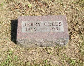 CREES, JERRY - Decatur County, Iowa | JERRY CREES