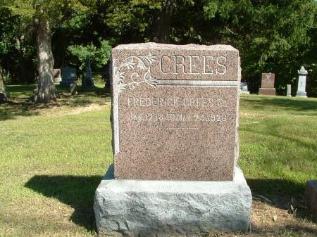 CREES, JOHN FREDRICK SR. - Decatur County, Iowa | JOHN FREDRICK SR. CREES