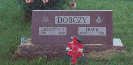 DOBOZY, FRANK AND JEANETTE - Decatur County, Iowa | FRANK AND JEANETTE DOBOZY