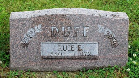 DUFF, RUIE E. - Decatur County, Iowa | RUIE E. DUFF