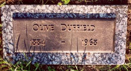 DUFFIELD, OLIVE - Decatur County, Iowa | OLIVE DUFFIELD