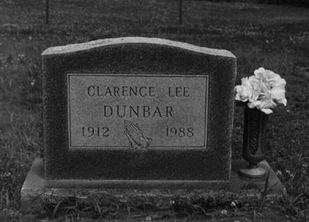 DUNBAR, CLARENCE LEE - Decatur County, Iowa | CLARENCE LEE DUNBAR