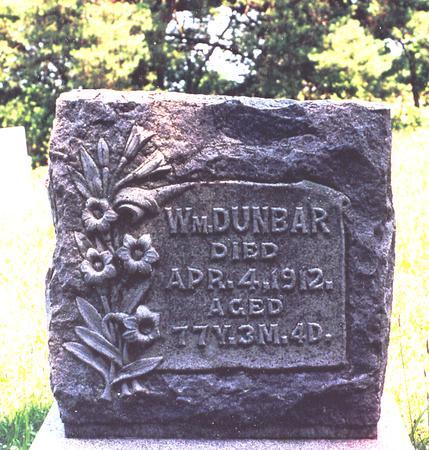 DUNBAR, WM. - Decatur County, Iowa | WM. DUNBAR