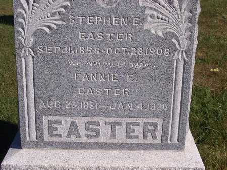 PRICE EASTER, FANNIE E - Decatur County, Iowa | FANNIE E PRICE EASTER