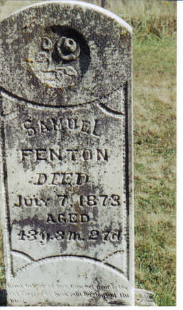 FENTON, SAMUEL - Decatur County, Iowa | SAMUEL FENTON
