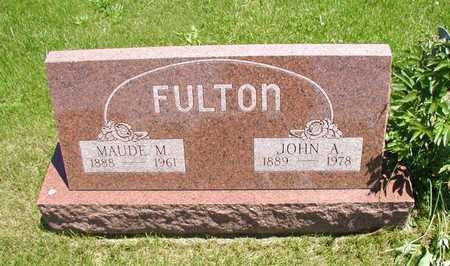 FULTON, MAUDE - Decatur County, Iowa | MAUDE FULTON