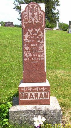 SKALES GRAHAM, IDA VIOLA - Decatur County, Iowa | IDA VIOLA SKALES GRAHAM