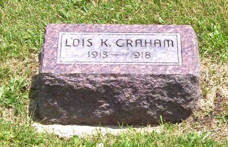 GRAHAM, LOIS - Decatur County, Iowa   LOIS GRAHAM