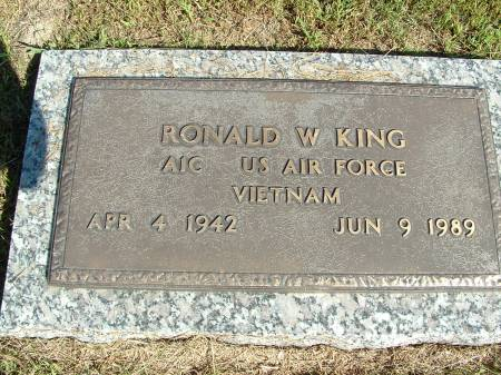 KING, RONALD W. - Decatur County, Iowa | RONALD W. KING