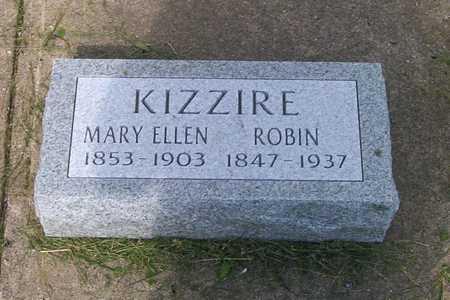 GOBLE KIZZIRE, MARY ELLEN - Decatur County, Iowa   MARY ELLEN GOBLE KIZZIRE
