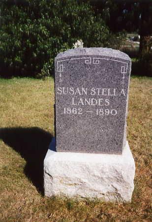 STANLEY LANDES, SUSAN STELLA - Decatur County, Iowa | SUSAN STELLA STANLEY LANDES