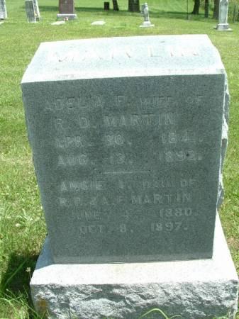 MARTIN, ADELIA F. - Decatur County, Iowa | ADELIA F. MARTIN