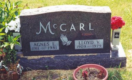 MCCARL, AGNES E. - Decatur County, Iowa | AGNES E. MCCARL