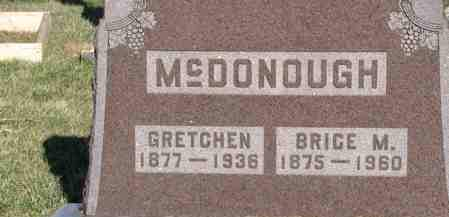 MCDONOUGH, GRETCHEN - Decatur County, Iowa | GRETCHEN MCDONOUGH