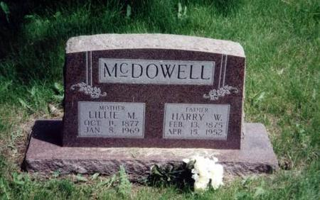 MCDOWELL, HARRY W. AND LILLIE M. - Decatur County, Iowa | HARRY W. AND LILLIE M. MCDOWELL