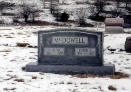 MCDOWELL, PETER L. AND GLADYS - Decatur County, Iowa | PETER L. AND GLADYS MCDOWELL