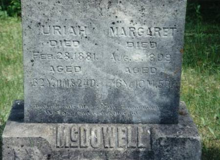 MCDOWELL, URIAH AND MARGARET - Decatur County, Iowa | URIAH AND MARGARET MCDOWELL