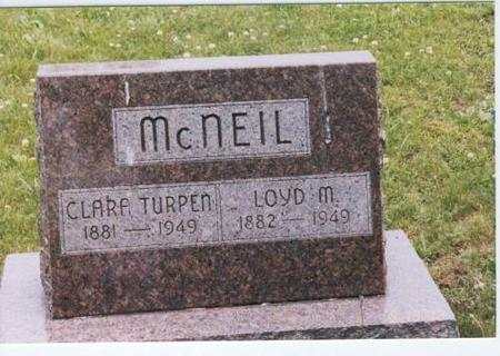MCNEIL, LOYD AND CLARA TURPEN - Decatur County, Iowa   LOYD AND CLARA TURPEN MCNEIL