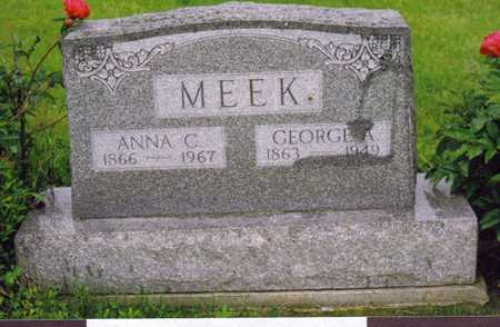 CASH MEEK, ANNA - Decatur County, Iowa | ANNA CASH MEEK