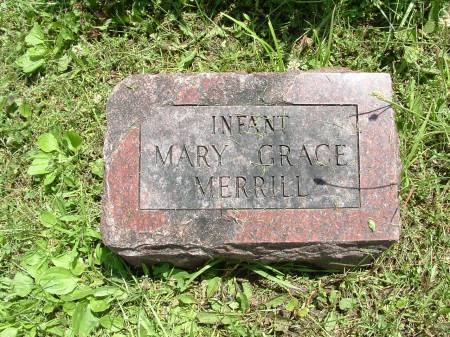 MERRILL, INFANT MARY GRACE - Decatur County, Iowa | INFANT MARY GRACE MERRILL