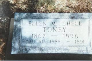 TONEY, ELLEN (MITCHELL) - Decatur County, Iowa | ELLEN (MITCHELL) TONEY