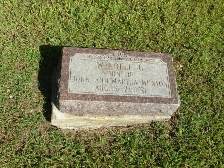MUNYON, WINDELL C. - Decatur County, Iowa | WINDELL C. MUNYON