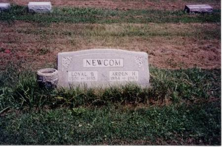 NEWCOM, LOYAL B. AND ARDEN H. - Decatur County, Iowa | LOYAL B. AND ARDEN H. NEWCOM
