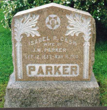 CASH PARKER, ISABEL R. - Decatur County, Iowa | ISABEL R. CASH PARKER