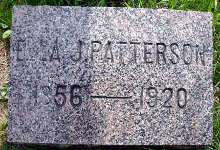 PATTERSON, ELLA J - Decatur County, Iowa   ELLA J PATTERSON