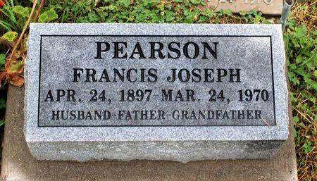 PEARSON, FRANCIS JOSEPH - Decatur County, Iowa | FRANCIS JOSEPH PEARSON