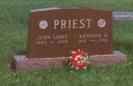 PRIEST, JOHN LEWIS AND KATHERINE NELL - Decatur County, Iowa | JOHN LEWIS AND KATHERINE NELL PRIEST