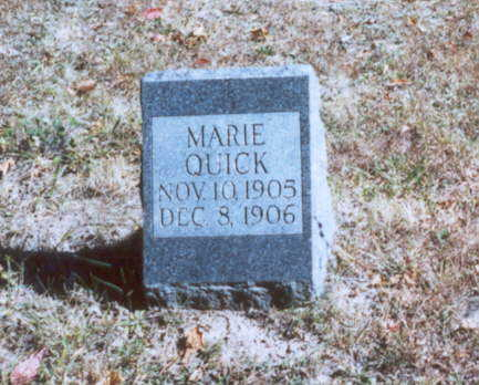 QUICK, MARIE - Decatur County, Iowa | MARIE QUICK