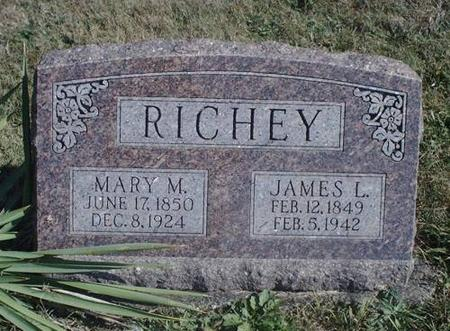 RICHEY, MARY M. AND JAMES L. - Decatur County, Iowa | MARY M. AND JAMES L. RICHEY
