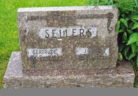 SUTHERLIN SELLERS, GERTRUDE - Decatur County, Iowa | GERTRUDE SUTHERLIN SELLERS